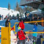 Action bei CEV Snow Volleyball EM 2018 Wagrain